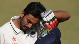 India vs Australia 2014-15, 3rd Test in Melbourne: KL Rahul dismissed