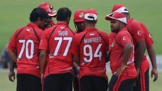 Singapore beat Nepal by 82 runs to seal a spot in 2019 ICC T20 World Cup Qualifier