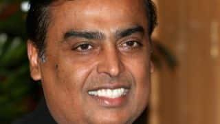 Ambani tops list of richest Indians