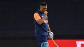 Cricket World Cup 2019: MS Dhoni's finger is fine, there's nothing to worry: Indian team official