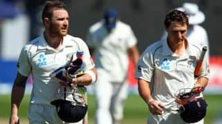 Brendon McCullum, BJ Watling score fifties to put New Zealand back on track against England in 2nd Test at Headingley