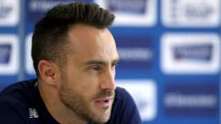 Faf du Plessis diagnosed with rotator cuff injury
