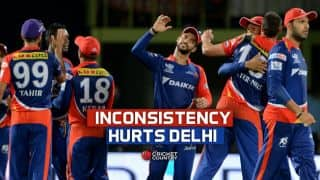 Delhi Daredevils in IPL 2015: Inconsistency hampers Delhi's progress again