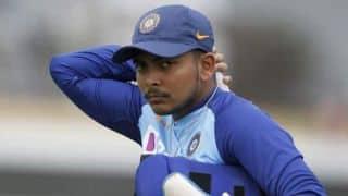 1st ODI: Shaw, Agarwal Receive ODI Caps as Latham-Led New Zealand Bowl in Series Opener