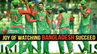 Bangladesh: Joy of watching the Bangla Tigers succeed