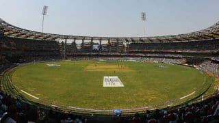 Irani Cup 2016-17 to be hosted by Wankhede Stadium, Mumbai