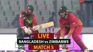 Watch Live Streaming of BAN vs ZIM on hotstar