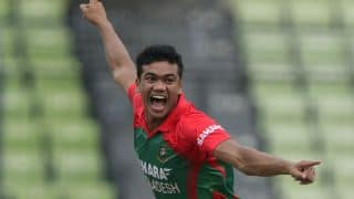 Taskin Ahmed floors India with five-for on ODI debut for Bangladesh