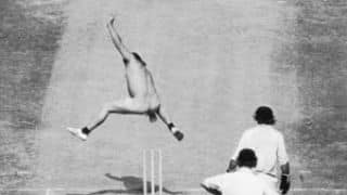 The first streaker at Lord's cricket ground