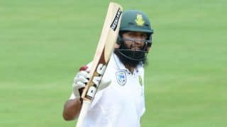 Amla 8th to score century in 100th Test