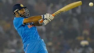 MS Dhoni surpasses Sachin Tendulkar in hitting most ODI sixes