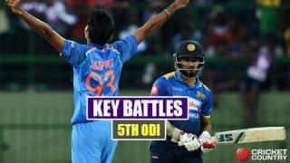 India vs Sri Lanka 2017, 5th ODI at Colombo: Virat Kohli vs Vishwa Fernando, MS Dhoni vs Lasith Malinga and other key battles