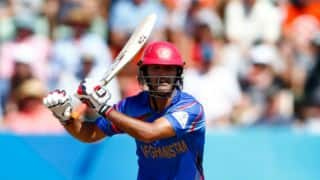 AFG bowled out for 186 against NZ in ICC World Cup 2015 match at Napier