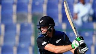 New Zealand vs Sri Lanka 2014-15: Martin Guptill dismissed for duck by Nuwan Kulasekara