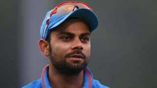 Virat Kohli to James Faulkner: Why are you sleeping?