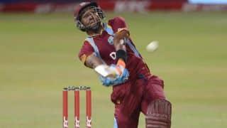 India vs West Indies, 2nd T20I 2016: Dwayne Bravo dismissed for 3 by Amit Mishra