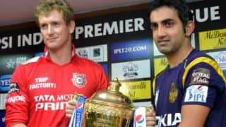 IPL Finals Statistical Preview ahead of KKR vs KXIP IPL 2014 summit clash