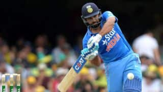 Rohit Sharma ton powers India to commanding total of 308-8 in 2nd ODI against Australia at Brisbane