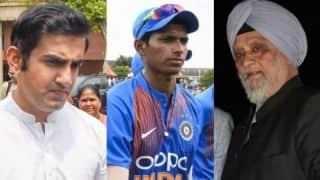 Navdeep Saini is outstanding but I don't' have to stoop to conquer like Gautam Gambhir: Bishan Singh Bedi