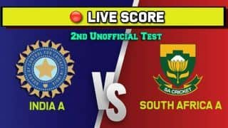 Live: India A vs South Africa A, 2nd unofficial Test - India A lose Abhimanyu Easwaran early