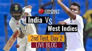 IND 358/5, 125 overs | India vs West Indies 2016: Live Cricket Score, 2nd Test at Kingston, Day 2
