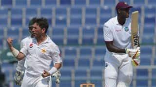 LIVE Cricket Score, Pakistan vs West Indies, 3rd Test, Day 1 at Sharjah: Stumps