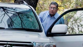 N Srinivasan visits Arun Jaitley after becoming ICC chairman