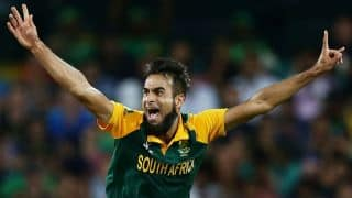 BREAKING: Imran Tahir goes missing for hours following 7-wicket haul!
