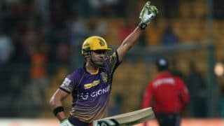 Gambhir steers KKR to Qualifier 2; SRH lose by 7 wickets (DLS) in IPL 2017 Eliminator