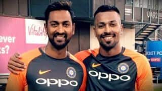 All-rounder Krunal Pandya wants to play 2019 World cup