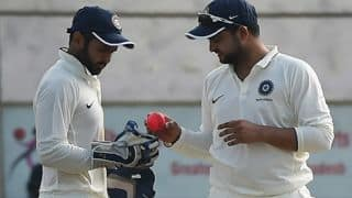 LIVE Cricket Score, Duleep Trophy 2017-18, India Blue vs India Green, Day 3
