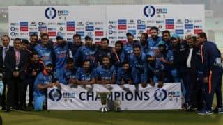आईसीसी चैंपियंस ट्रॉफी 2017: फिलहाल टीम इंडिया का ऐलान अभी नहीं