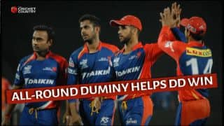 Delhi Daredevils beat Sunrisers Hyderabad by 4 runs in exciting clash in IPL 2015