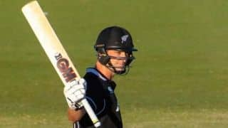 Will Young's second straight ton takes New Zealand to 286/9 in World Cup warm-up