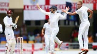 Live Cricket Scorecard: West Indies vs England 2015, 1st Test at Antigua Day 4