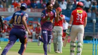 Jaydev Unadkat's stellar show, Shardul Thakur's 3 for 19 and other highlights from Rising Pune Supergiant (RPS) vs Kings XI Punjab (KXIP), IPL 2017, match 55