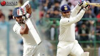Virender Sehwag's lofted shot advice helped me a lot, says Wriddhiman Saha