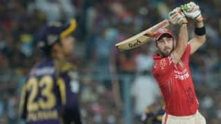 Glenn Maxwell joins IPL 2016 injury list; out of tournament with abdominal strain