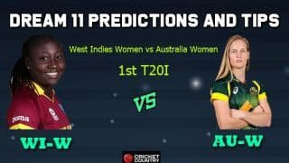 WI-W vs AU-W Dream11 Team West Indies Women vs Australia Women, 1st T20I, Australia Women tour of West Indies 2019 – Cricket Prediction Tips For Today's Match WI-W vs AU-W at Barbados