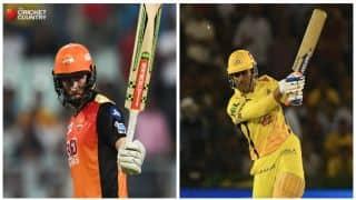 Highlights, IPL 2018, SRH vs CSK, Full Cricket Score and Updates, Match 20 at Rajiv Gandhi International Stadium, Updates: CSK win by 4 runs
