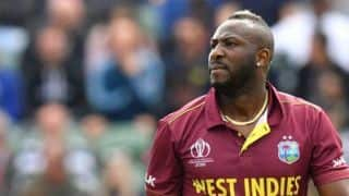 Jason Mohammed will replace Andre Russell for T20I series against India