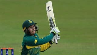 WWC17: Lizelle Lee's 92 powers SA to 273 for 9 against IND