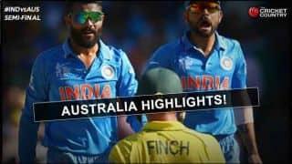 Video Highlights: India vs Australia semi-final ICC Cricket World Cup 2015 – 1st innings