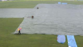 Bangladesh 111/3 at Tea in one-off Test Day 4 as post-lunch session is washed out due to rain