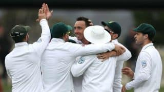 Kyle Abbott's 6-for hand visitors' historic series win