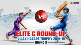 Vijay Hazare Trophy 2018-19, Elite Group C wrap: Ishan Kishan 139 flattens Assam