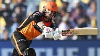 Indian T20 League: David Warner's 85 powers Hyderabad to 181 against Kolkata