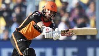 Indian T20 League: David Warner's 85 powers Hyderabad to 181 against Kolkata