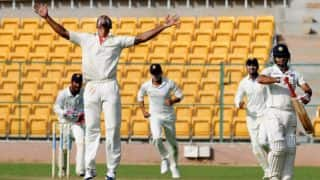 Mumbai bowled out for 129; set target of 252