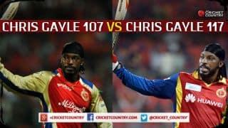 Chris Gayle's century against Kings XI Punjab: History repeats itself
